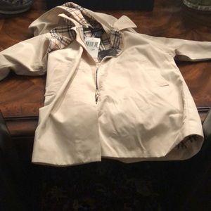 Burberry kids trench coat